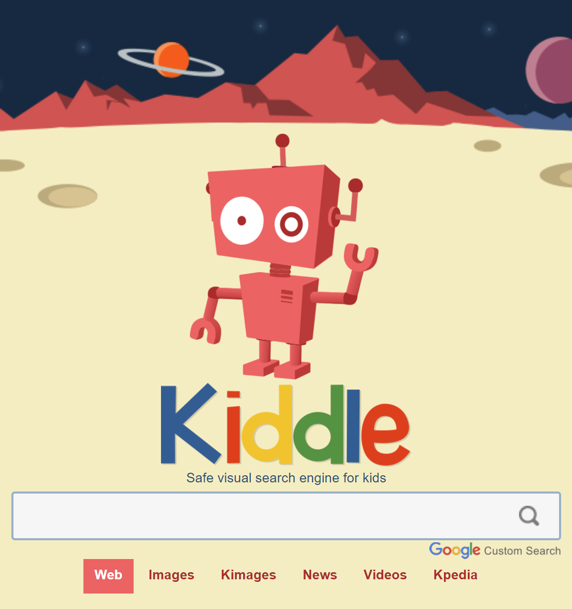 Kiddle Search Engine Logo
